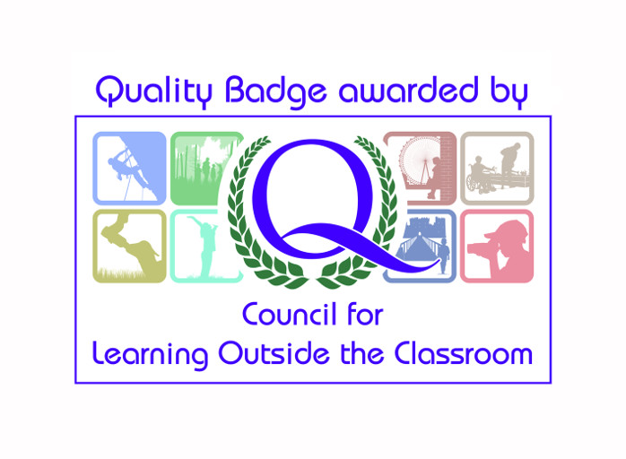 Boulder adventures Learning Outside the Classroom Quality Badge Mark